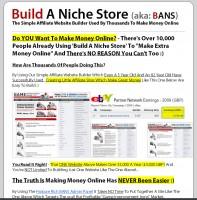 Build A Niche Site affiliate marketing program