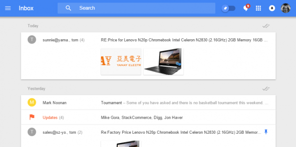 google-inbox-clean