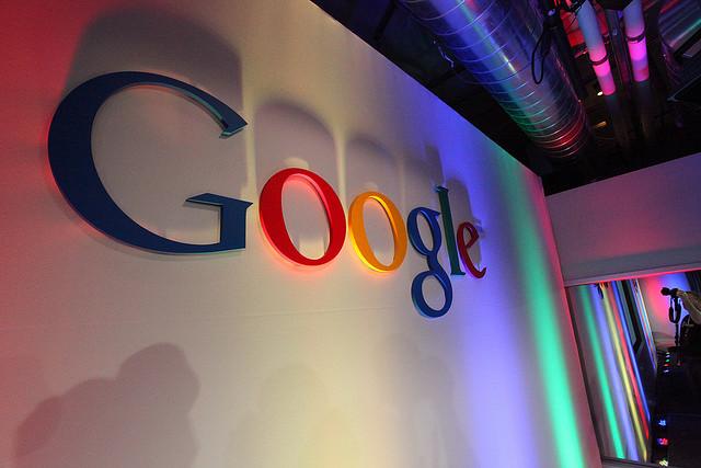google-logo-wall