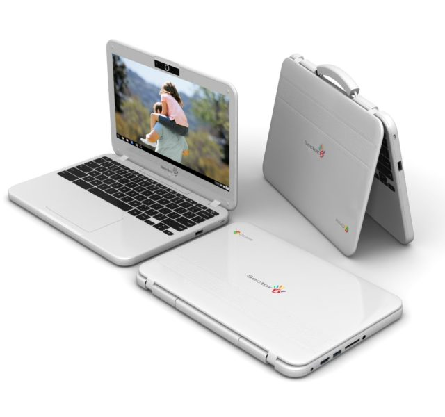 Heavy Duty, Rugged Chromebook Sector 5 E1