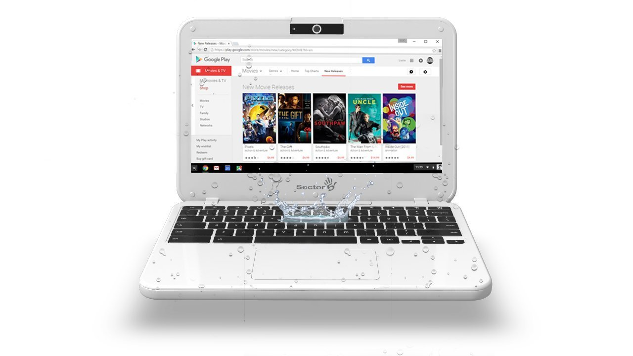 Rugged Chromebook Sector 5 E1