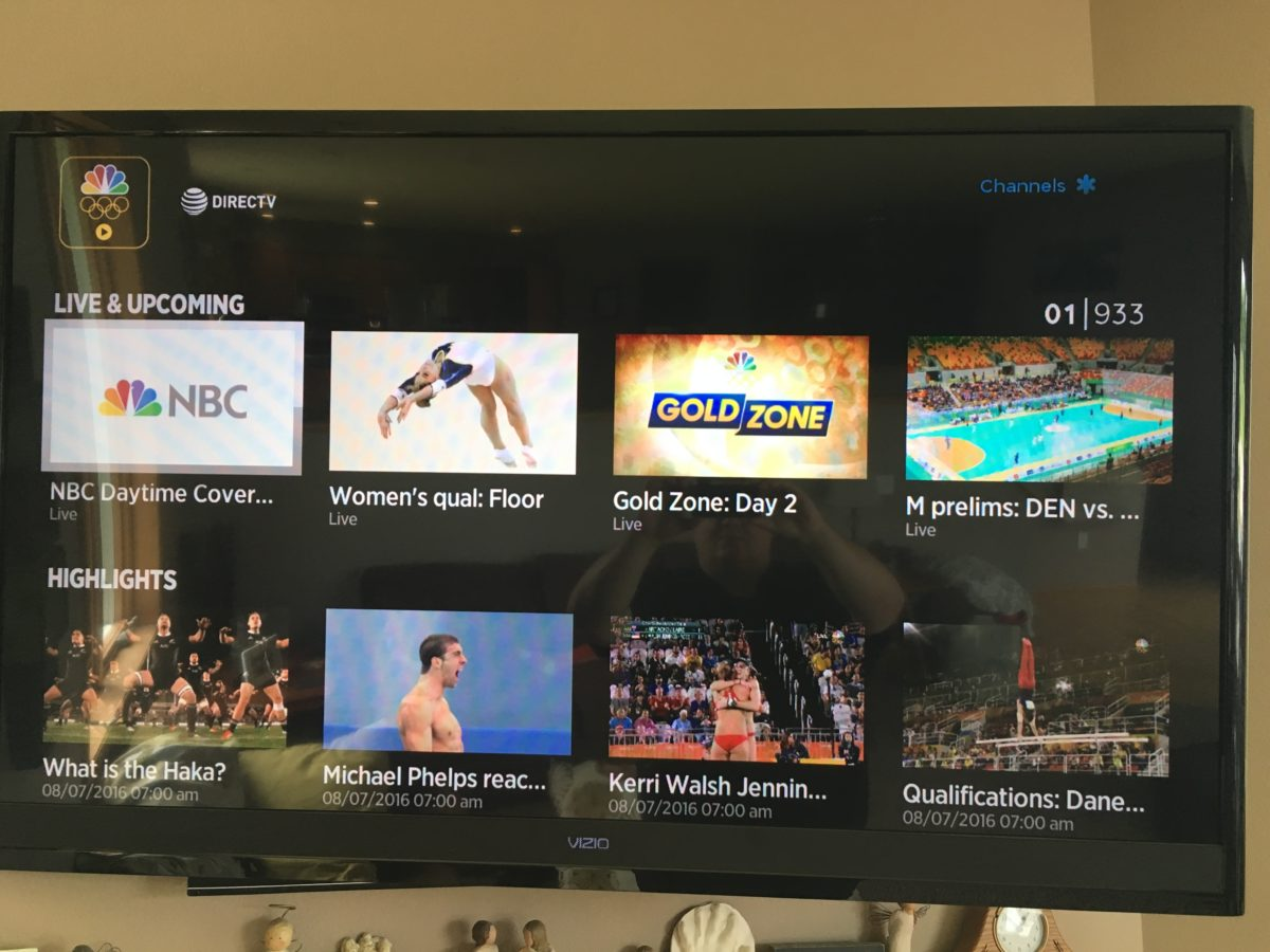 This is the breakout year for streaming TV - NBC Olympic coverage is the best it has ever been.
