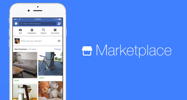 Facebook as a Marketplace, but its mobile only.